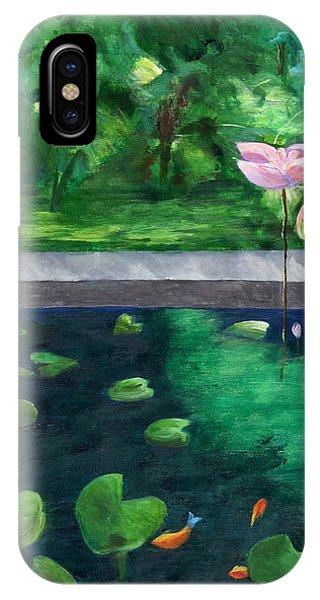 Serenity Pond IPhone Case