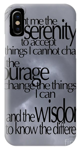 Serenity Prayer 05 IPhone Case