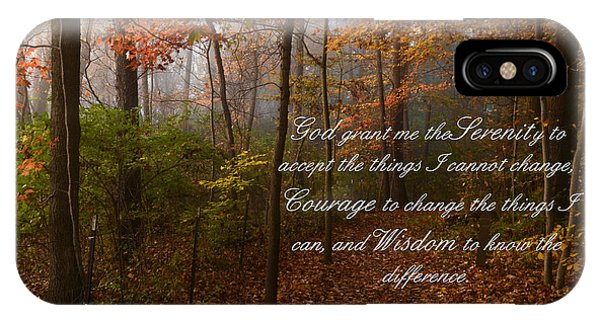 Serenity Prayer IPhone Case