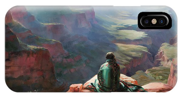Canyon iPhone Case - Serenity by Steve Henderson