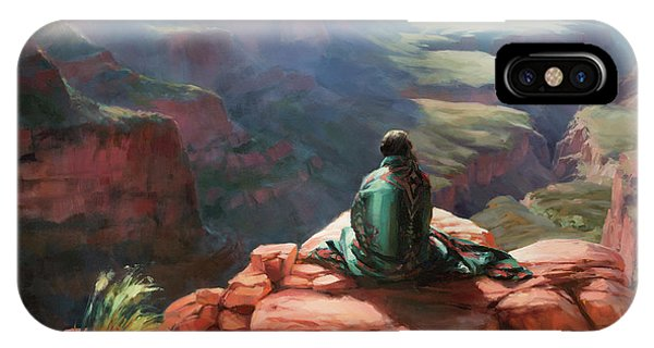 Grand Canyon iPhone Case - Serenity by Steve Henderson