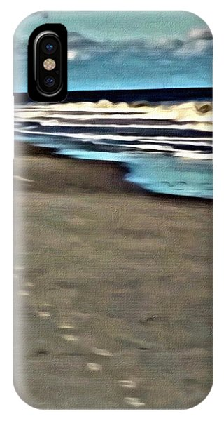 IPhone Case featuring the painting Serenity Walk by Marian Palucci-Lonzetta