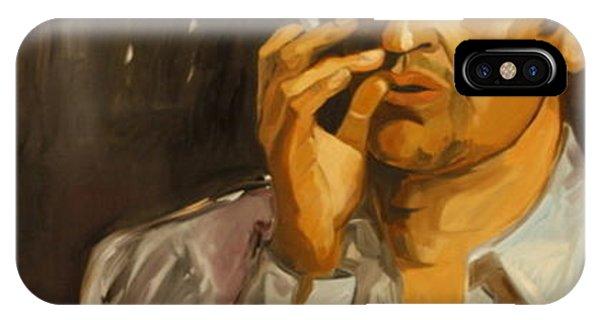 Serge Gainsbourg Phone Case by Carmen Stanescu Kutzelnig