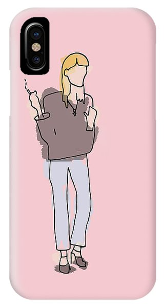 Series Pink 003 IPhone Case