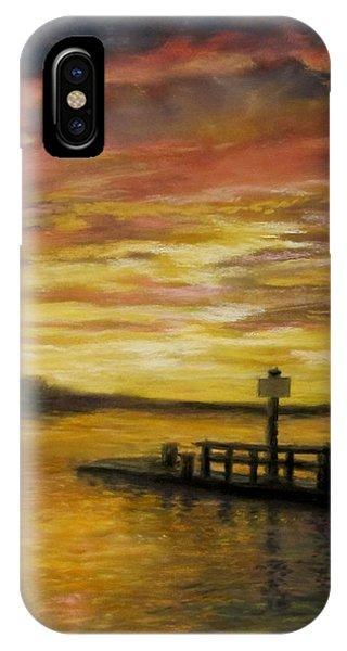 Sesuit Harbor At Sunset IPhone Case