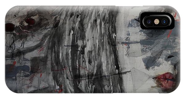 Singer iPhone Case - Set Fire To The Rain  by Paul Lovering