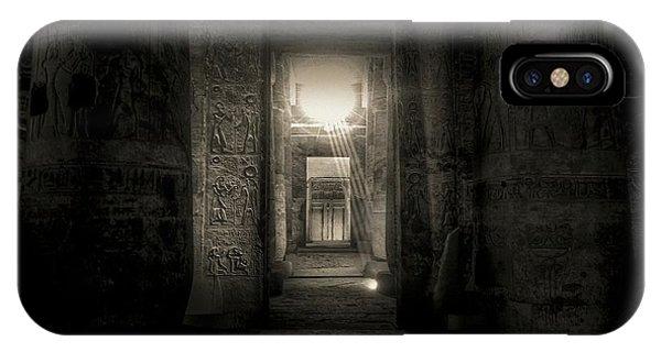 Seti I Temple Abydos IPhone Case