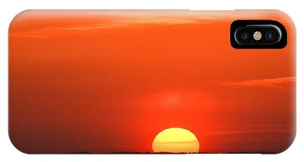 Setting Sun Halibut Pt. IPhone Case