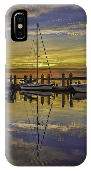 Setting Sun Reflections IPhone Case