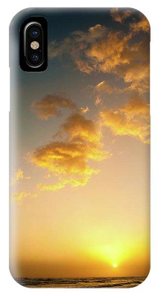 Setting Sun IPhone Case