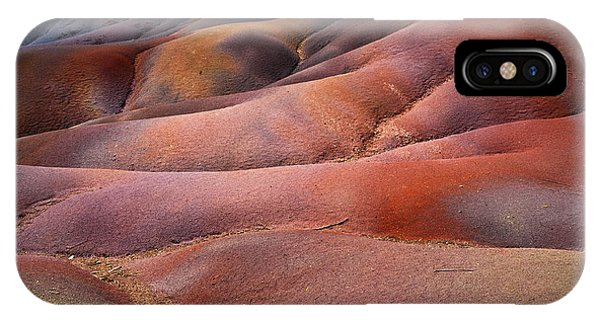 Seven Colored Earth In Chamarel 8. Series Earth Bodyscapes. Mauritius IPhone Case