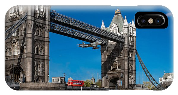 Seven Seconds - The Tower Bridge Hawker Hunter Incident  IPhone Case