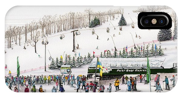 Seven Springs Stowe Slope IPhone Case