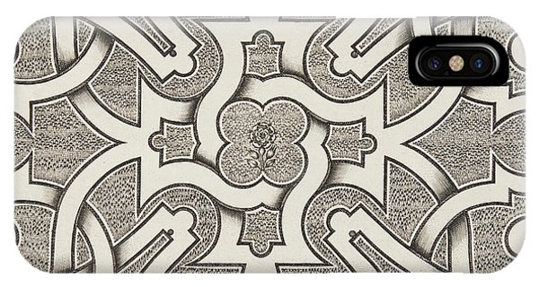 Repeat iPhone Case - Seventeenth Century Design For Parterre by Jacques Mollet