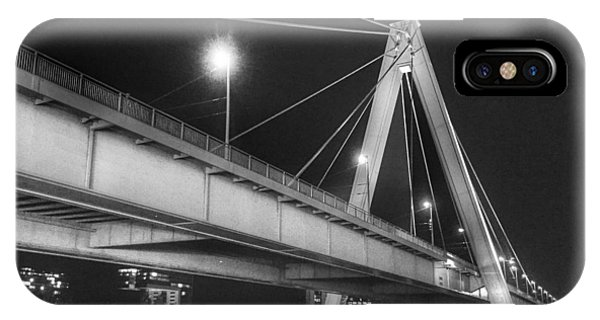 IPhone Case featuring the photograph Severin Bridge In Cologne by Dirk Jung