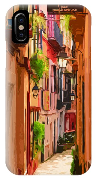Seville, Colorful Spain IPhone Case