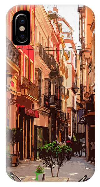 Seville, The Colorful Streets Of Spain - 02 IPhone Case