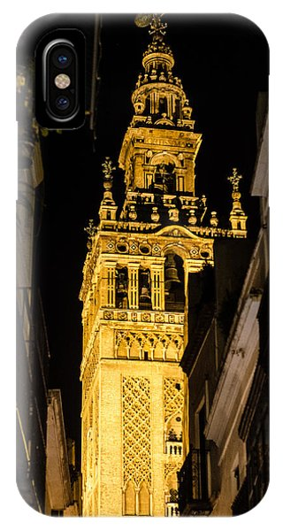 Seville - The Giralda At Night  IPhone Case