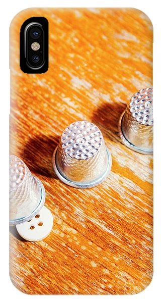 Magic iPhone Case - Sewing Tricks by Jorgo Photography - Wall Art Gallery
