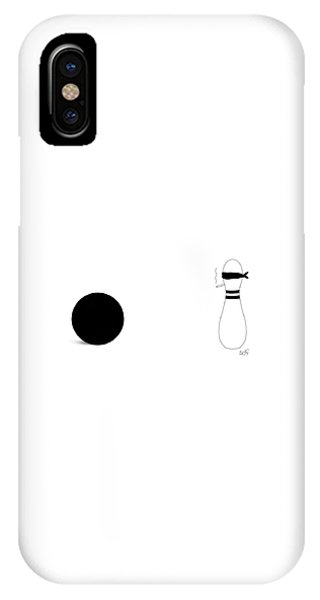 Bowling Execution IPhone Case