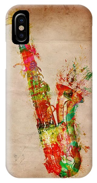 Sexy Saxaphone IPhone Case