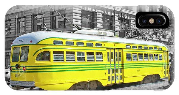 Sf Streetcar IPhone Case