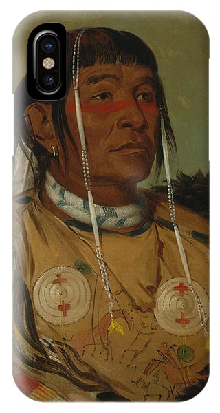 Sha-co-pay, The Six, Chief Of The Plains Ojibwa IPhone Case