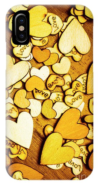 Design iPhone Case - Shabby Love Artwork by Jorgo Photography - Wall Art Gallery