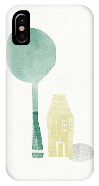 Shade Tree- Art By Linda Woods IPhone Case