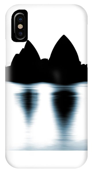 Shaded Peaks  IPhone Case