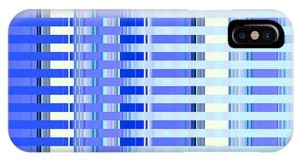 Shades Of Blue Highrise IPhone Case