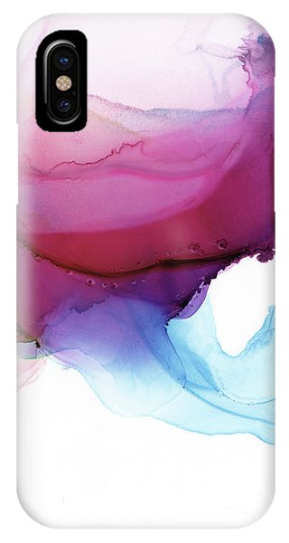 Pink iPhone Case - Shades Of Purple by PrintsProject