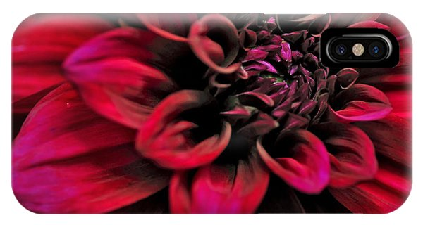 Shades Of Red - Dahlia IPhone Case