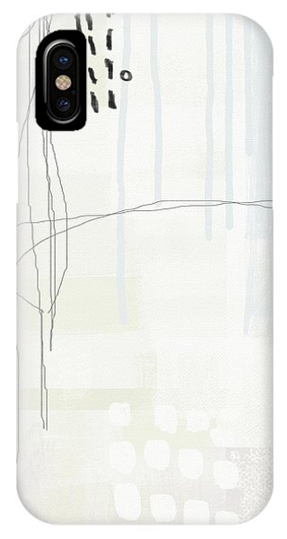 Simple iPhone Case - Shades Of White 1 - Art By Linda Woods by Linda Woods