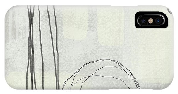 Shades Of White 3 - Art By Linda Woods IPhone Case