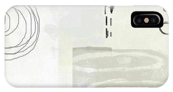 Shades Of White 4- Art By Linda Woods IPhone Case