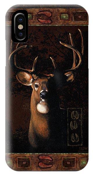 Shadow Deer IPhone Case