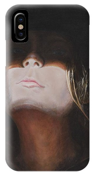 Shadow Of A Cowgirl IPhone Case