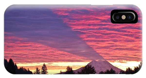 Shadow Of Mount Rainier IPhone Case