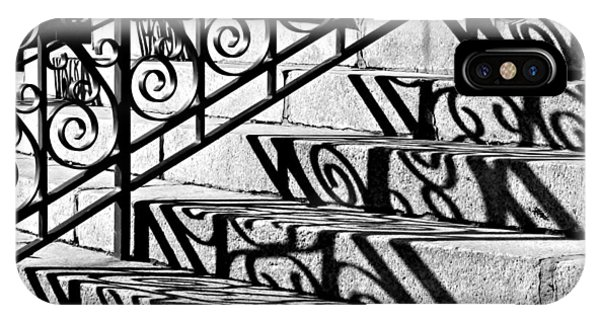 Shadow On The Rotunda Stairs IPhone Case
