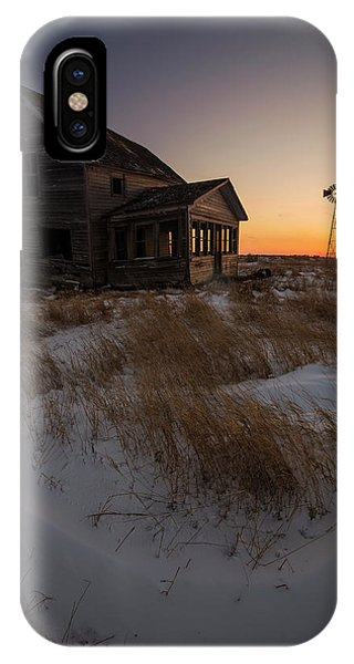 Middle Of Nowhere iPhone Case - Shadow On The Sun by Aaron J Groen