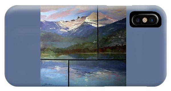Betty Billups iPhone Case - Shadow Side Of Winter by Betty Jean Billups