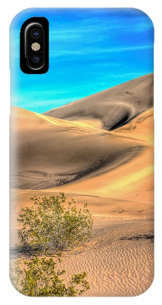 Shadows In The Sand IPhone Case