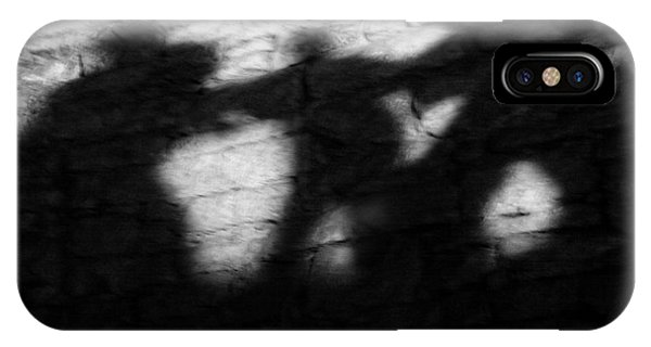Ghastly iPhone Case - Shadows On The Wall Of Edinburgh Castle  by Christine Till