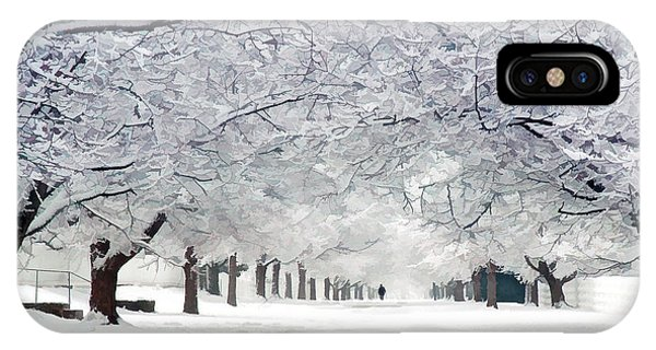 Shaker Winter Walkway IPhone Case
