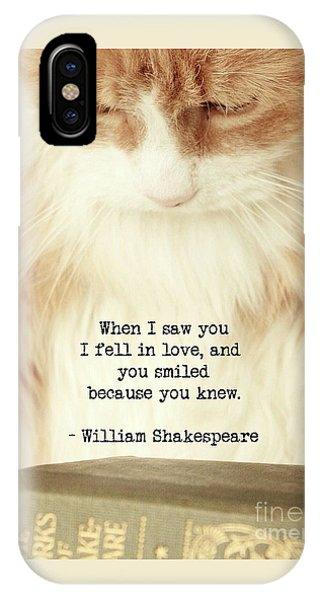 Shakespeare In Love IPhone Case