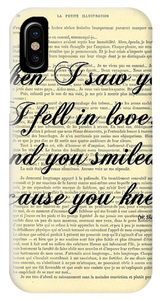 I Love You iPhone Case - Shakespeare Quote by Madame Memento