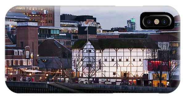 Shakespeare's Globe IPhone Case