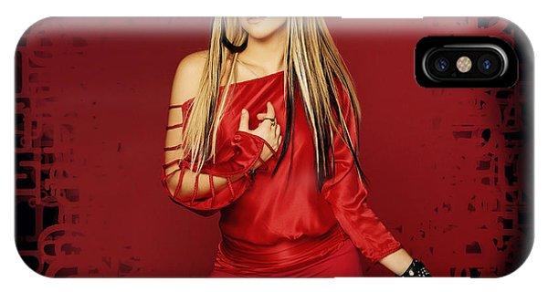 Shakira iPhone Case - Shakira 34 by Emma Brown