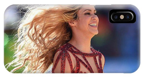 Shakira iPhone Case - Shakira Brazil by Mery Moon